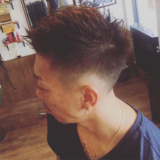フェード&フォワードSTYLE !!#hairstyle#haircut#menshair#menshairstyle#ヘアスタイル#ヘアカット#髪型#メンズヘア##メンズカット#豊橋#豊橋美容院#美容院#barber#barberlife#chicago_hair_studio
