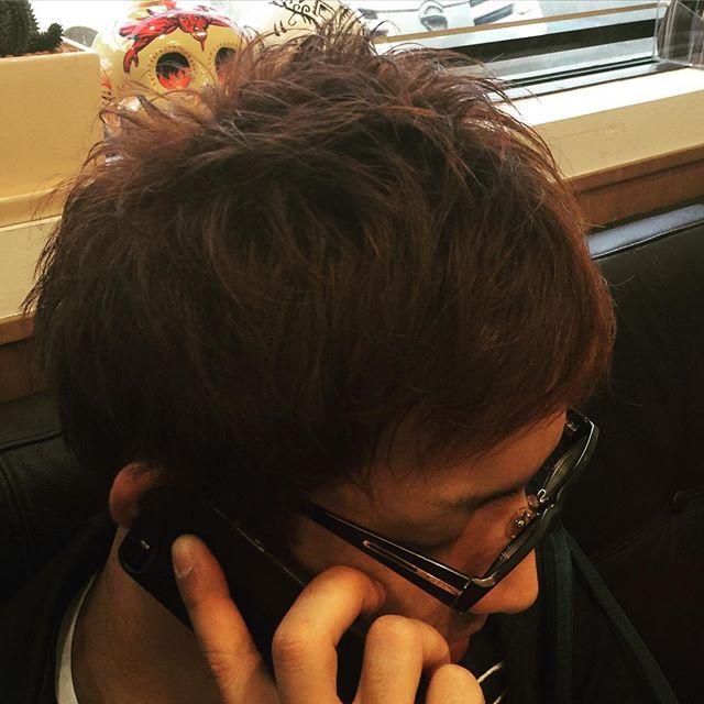 mensshorthair#mensshorthair#brownhair#hairstyle#haircolor#chicago_hair_studio#haircut#hairset#豊橋#豊橋美容院#美容師#散髪#床屋#barber#シカゴスタイル#愛知