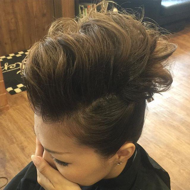 ヘアセット!#ヘアセット#ヘアアップ##hairstyle#haircolor#chicago_hair_studio#haircut#hairset#豊橋#豊橋美容院#美容師#散髪#床屋#barber#シカゴスタイル