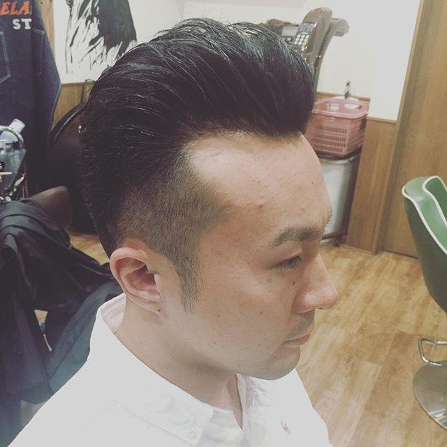 海外風のナチュラルなオールバック!!#hairstyle#menshair#suavecito#getithombre allback#chicago_hair_studio#haircut#hairset#豊橋#豊橋美容院#美容師#散髪#床屋#barber#シカゴスタイル#chicagohairstudio