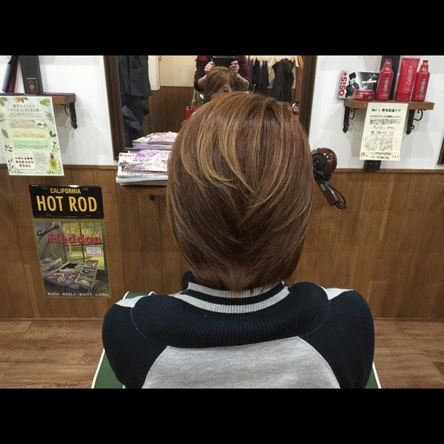 haircolor & haircut!!#hairstyle#haircolor#chicago_hair_studio#haircut#hairset#豊橋#豊橋美容院#美容師#散髪#床屋#barber#シカゴスタイル#chicagohairstudio