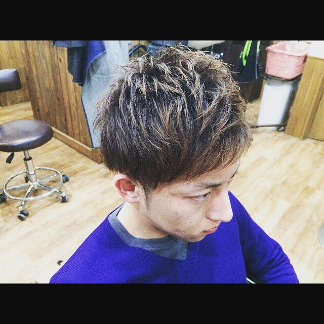 Men's hair cut !!#hairstyle#haircolor#chicago_hair_studio#menshair#menshaircut#haircut#hairset#豊橋#豊橋美容院#美容師#散髪#床屋#barber#シカゴスタイル#chicagohairstudio