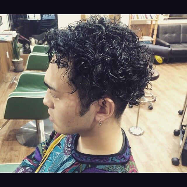 2ブロック&パーマ!!#hairstyle#haircolor#chicago_hair_studio#haircut#hairset#豊橋#豊橋美容院#美容師#散髪#床屋#barber#シカゴスタイル#chicagohairstudio