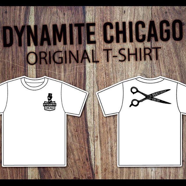 先行予約開始!!dynamite harem & chicago hair studio のコラボTシャツ (¥3000)を今月28日まで予約受付中!!カラーはホワイト、ブラック、グレーです!! お早めにご予約ください(^o^)