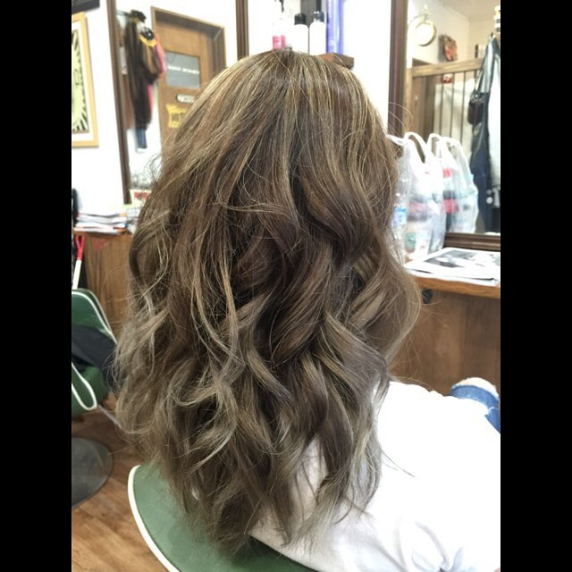 ash gray !!#hairstyle#haircolor#chicago_hair_studio#haircut#hairset#豊橋#豊橋美容院#美容師#散髪#床屋#barber#シカゴスタイル#chicagohairstudio