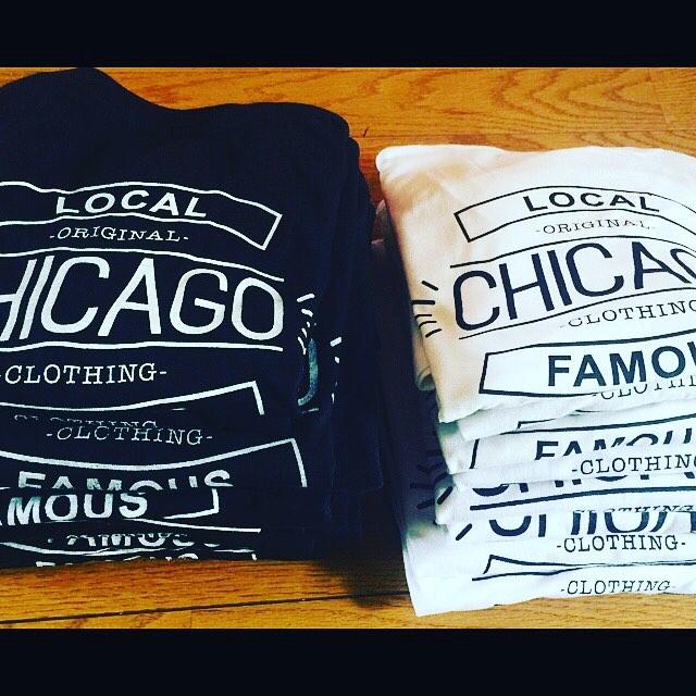こちらも是非!!CHICAGO CLOTHING TシャツBlack / White ¥3,500