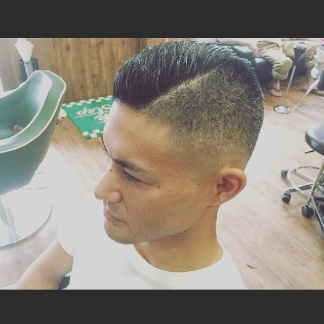夏のさっぱりヘア!@king_joe_d3tn #hairstyle#haircolor#chicago_hair_studio#haircut#hairset#豊橋#豊橋美容院#美容師#散髪#床屋#barber#シカゴスタイル#chicagohairstudio