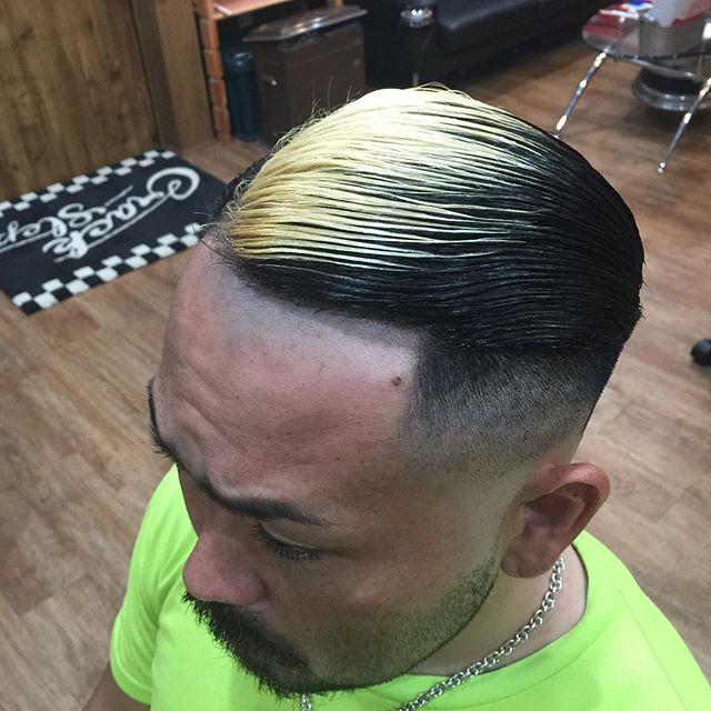 color & cut & straight perma!!#hairstyle#haircolor#chicago_hair_studio#haircut#hairset#豊橋#豊橋美容院#美容師#散髪#床屋#barber#シカゴスタイル#chicagohairstudio