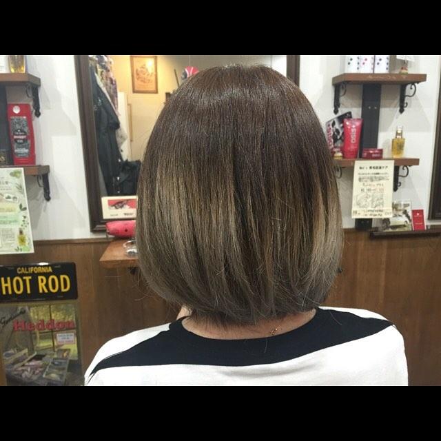 グラデーション+アッシュ。#hairstyle#haircolor#chicago_hair_studio#haircut#hairset#豊橋#豊橋美容院#美容師#散髪#床屋#barber#シカゴスタイル#chicagohairstudio