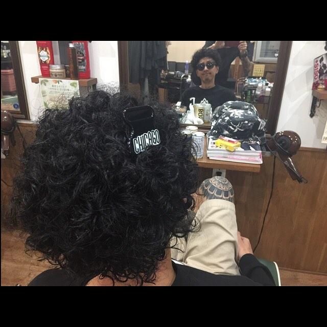 permanent!! #hairstyle#haircolor#chicago_hair_studio#haircut#hairset#豊橋#豊橋美容院#美容師#散髪#床屋#barber#シカゴスタイル#chicagohairstudio