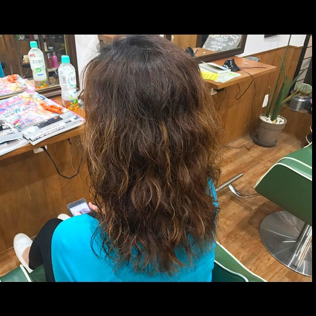 permanent hair !! #hairstyle#haircolor#chicago_hair_studio#haircut#hairset#豊橋#豊橋美容院#美容師#散髪#床屋#barber#シカゴスタイル#chicagohairstudio