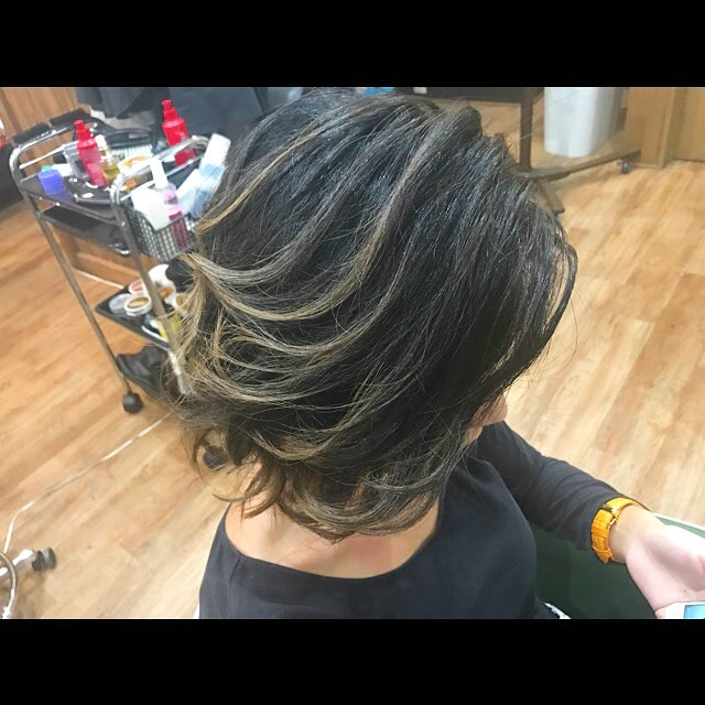 hair color!!! #hairstyle#haircolor#chicago_hair_studio#haircut#hairset#豊橋#豊橋美容院#美容師#散髪#床屋#barber#シカゴスタイル#chicagohairstudio