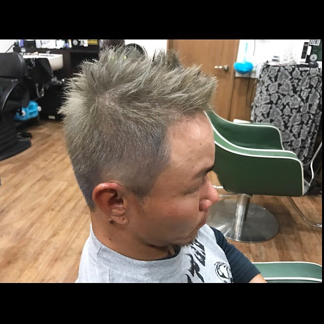 hair color & cut!!! #silverash#hairstyle#haircolor#chicago_hair_studio#haircut#hairset#豊橋#豊橋美容院#美容師#散髪#床屋#barber#シカゴスタイル#chicagohairstudio