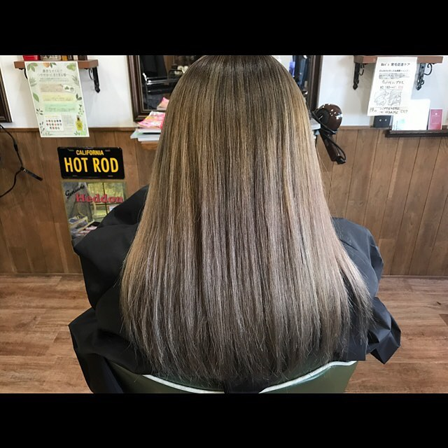 haircolor!!!#ヘアカラー#アッシュ#アッシュベージュ#アッシュグレイ #hairstyle#haircolor#chicago_hair_studio#haircut#hairset#豊橋#豊橋美容院#美容師#散髪#床屋#barber#シカゴスタイル#chicagohairstudio