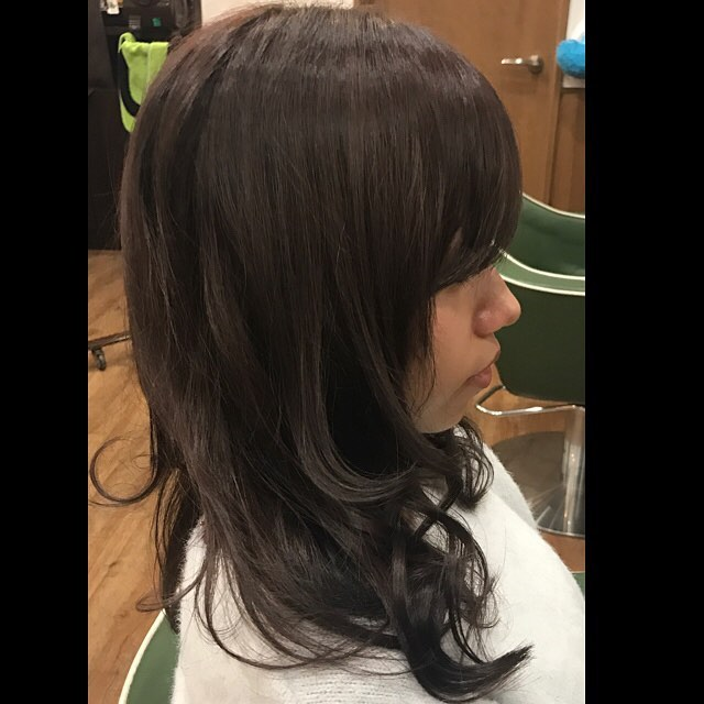 darkash color &cut !!!#hairstyle#haircolor#chicago_hair_studio#haircut#hairset#豊橋#豊橋美容院#美容師#散髪#床屋#barber#シカゴスタイル#chicagohairstudio
