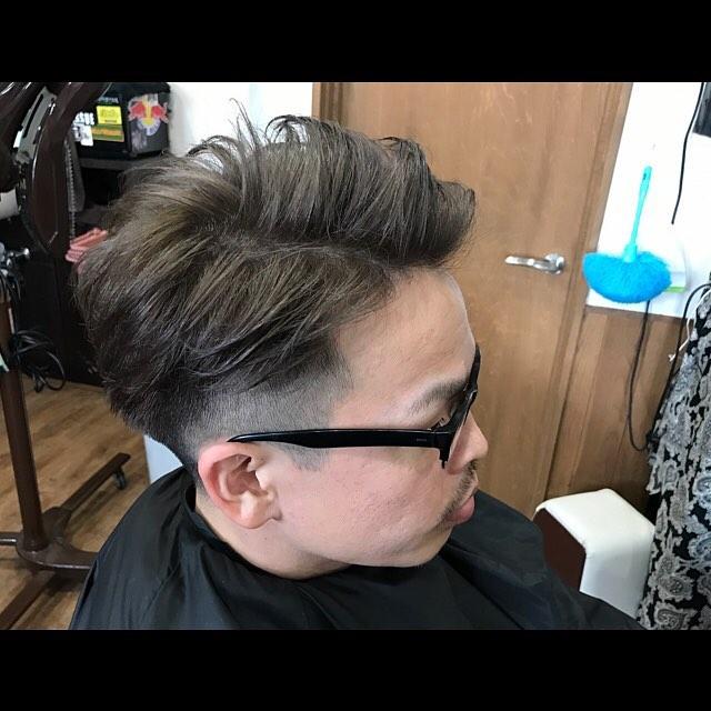 ラフな7:3分けもありですね!#hairstyle#haircolor#chicago_hair_studio#haircut#hairset#豊橋#豊橋美容院#美容師#散髪#床屋#barber#シカゴスタイル#chicagohairstudio