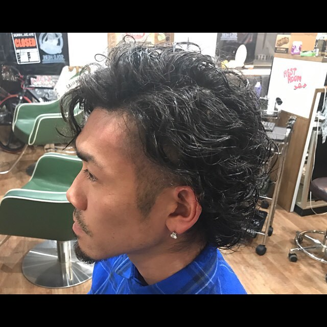 permanent!#perm#menshair#hairstyle#haircolor#chicago_hair_studio#haircut#hairset#豊橋#豊橋美容院#美容師#散髪#床屋#barber#シカゴスタイル#chicagohairstudio