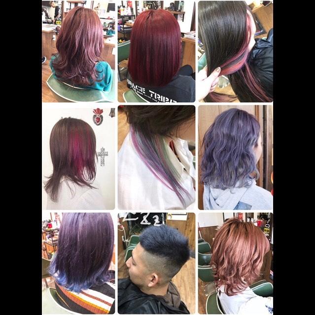 .pink&purplehair color.#豊橋美容室#豊橋#岩田#beautysalon#hairsalon#hairdresser#shorthair#middiumhair#haircut#color#designcolor#pinkhair #redhair#purplehair#ヘアセット#カット#カラー#グラデーションカラー#ハイライトカラー#ナチュラルヘア#ハイトーンカラー#ファッションカラー#ブリーチカラー#バレイヤージュ#ピンクヘア#レッドヘア#パープル#ヘアカラー#ヘアカラー#派手髪
