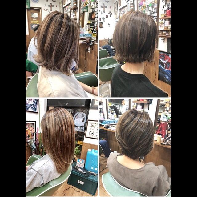 .highlite hair color!.ブリーチした方がコントラストは出やすいですがブリーチなしでもスタイルにより可能です#豊橋美容室#豊橋#岩田#シカゴヘアスタジオ#chicagohairstudio #beautysalon#hairsalon#hairdresser#shorthair#middiumhair#haircut#color#designcolor#ヘアセット#カット#カラー#グラデーションカラー#ハイライトカラー#ナチュラルヘア#ハイトーンカラー#ファッションカラー#ブリーチカラー#バレイヤージュ #ハイライトカラーバレイヤージュハイライト